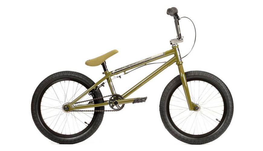 Stereo Bikes Half Stack BMX Børn grøn/oliven